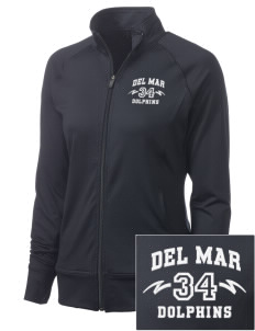 Del Mar Elementary School Dolphins Women's NRG Fitness Jacket