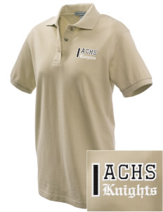 A-C Central High School Knights Embroidered Women's Pique Polo
