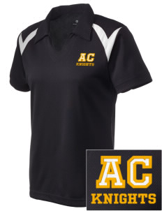 A-C Central High School Knights Embroidered Holloway Women's Laser Polo