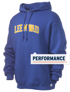 Lee M Waid Elementary School Hogs Russell Men's Dri-Power Hooded Sweatshirt