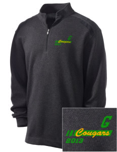 Glendale Adventist Academy Cougars Embroidered Nike Men's Golf Heather Cover Up