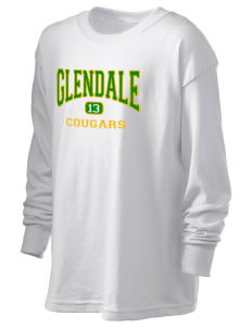 Glendale Adventist Academy Cougars Kid's 6.1 oz Long Sleeve Ultra Cotton T-Shirt