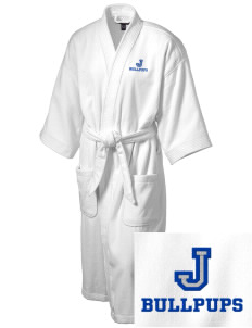 Leonard M Jennings Elementary School Bullpups Embroidered Terry Velour Robe
