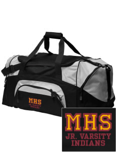 Millersburg Area High School Indians Embroidered Colorblock Duffel Bag