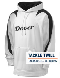 Dover Middle School Pirates Holloway Men's Sports Fleece Hooded Sweatshirt with Tackle Twill