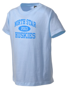 North Star Elementary School Huskies Kid's T-Shirt