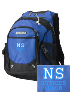 North Star Elementary School Huskies Embroidered OGIO Fugitive Backpack