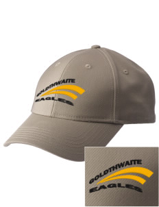 Goldthwaite Middle School Eagles  Embroidered New Era Adjustable Structured Cap