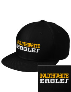 Goldthwaite Middle School Eagles  Embroidered New Era Flat Bill Snapback Cap