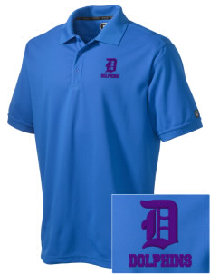 Day Middle School Dolphins Embroidered OGIO Men's Caliber Polo