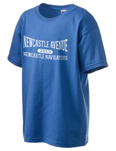 Newcastle Avenue Elementary School Newcastle Navigators Kid's 6.1 oz Ultra Cotton T-Shirt