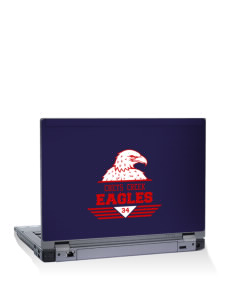"Chets Creek Elementary School Eagles 10"" Laptop Skin"