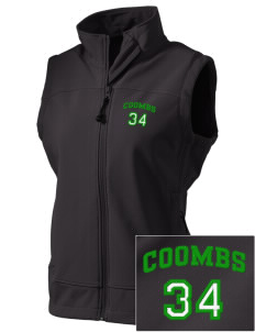 Coombs Middle School Colts  Embroidered Women's Glacier Soft Shell Vest