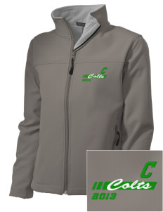 Coombs Middle School Colts Embroidered Women's Soft Shell Jacket
