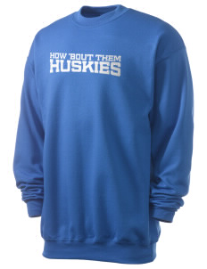 Hansen Elementary School Huskies Men's 7.8 oz Lightweight Crewneck Sweatshirt