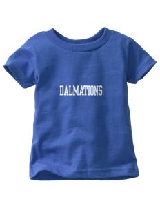Dollahan Elementary School Dalmations  Toddler Jersey T-Shirt