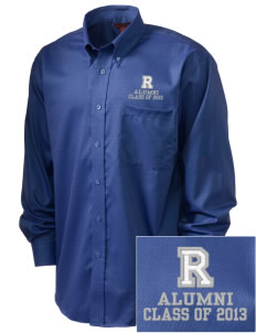 Redlands Adventist Academy Bulldogs  Embroidered Men's Nailhead Non-Iron Button-Down