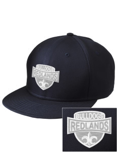Redlands Adventist Academy Bulldogs  Embroidered New Era Flat Bill Snapback Cap