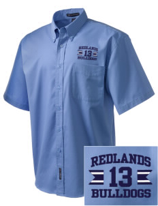 Redlands Adventist Academy Bulldogs Embroidered Men's Easy Care Shirt