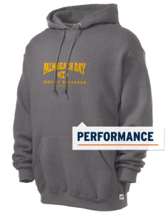 Palm Beach Day Academy Bulldogs Russell Men's Dri-Power Hooded Sweatshirt