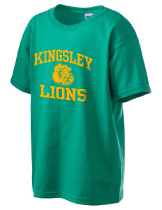 Kingsley Elementary School Lions Kid's 6.1 oz Ultra Cotton T-Shirt