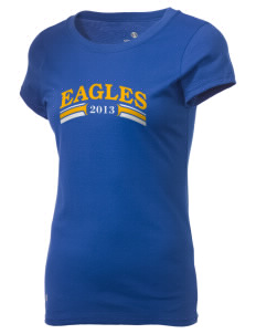Fairfield Christian School Eagles Holloway Women's Groove T-Shirt