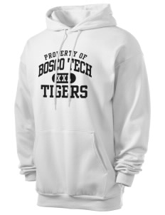 Don Bosco Tech Institute School Tigers Men's 7.8 oz Lightweight Hooded Sweatshirt