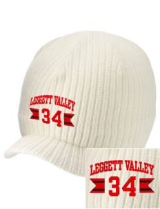 Leggett Valley School Panthers Embroidered Knit Beanie with Visor