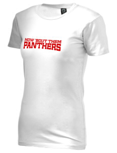 Leggett Valley School Panthers Alternative Women's Basic Crew T-Shirt