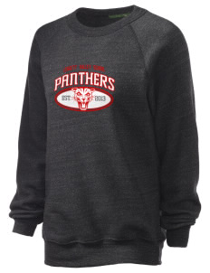 Leggett Valley School Panthers Unisex Alternative Eco-Fleece Raglan Sweatshirt