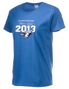 San Antonio De Padua School Blue Jays Women's 6.1 oz Ultra Cotton T-Shirt