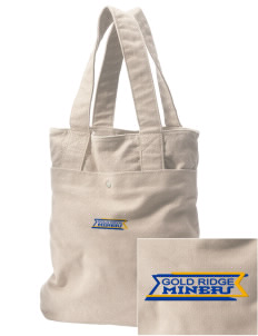 Gold Ridge Elementary School Miners Embroidered Alternative The Berkeley Tote