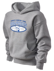 Freshwater Elementary School Dolphins Kid's Hooded Sweatshirt