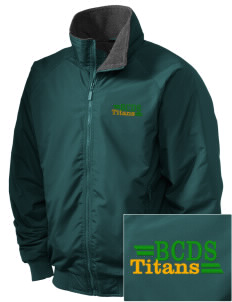 Bayside Community Day School Trojans Embroidered Holloway Men's Tall Jacket