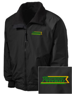 Bayside Community Day School Trojans Embroidered Tall Men's Challenger Jacket