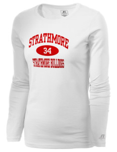 Strathmore Middle School Strathmore Bulldogs  Russell Women's Long Sleeve Campus T-Shirt