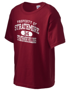 Strathmore Middle School Strathmore Bulldogs Kid's 6.1 oz Ultra Cotton T-Shirt