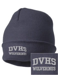 Deer Valley High School Wolverines Embroidered Knit Cap