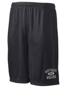 "West Valley Middle School Wolves Men's Competitor Short, 9"" Inseam"