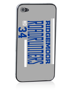 Ridgemoor Elementary School Roadrunners Apple iPhone 4/4S Skin