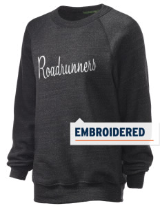 Ridgemoor Elementary School Roadrunners Embroidered Unisex Alternative Eco-Fleece Raglan Sweatshirt