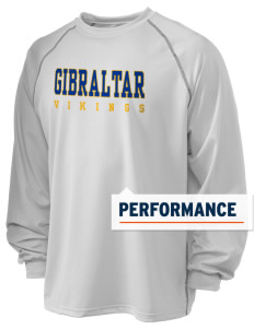 Gibraltar Middle School Vikings Holloway Men's Fuel Performance Long Sleeve T-Shirt