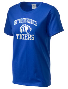 Truth Or Consequences Elementary School Tigers Women's Essential T-Shirt