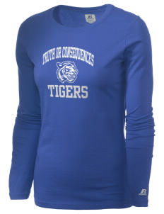 Truth Or Consequences Elementary School Tigers  Russell Women's Long Sleeve Campus T-Shirt