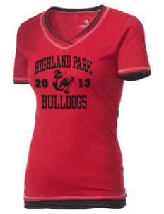 Highland Park Intermediate School Bulldogs Holloway Women's Dream T-Shirt