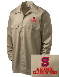 Sawnee Primary School Cubs Embroidered Dickies Men's Long-Sleeve Workshirt