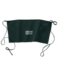 Adams Elementary School Eagles Waist Apron with Pockets