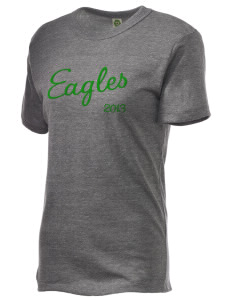 Adams Elementary School Eagles Embroidered Alternative Unisex Eco Heather T-Shirt