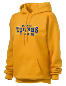 Connelly School Of The Holy Child Tigers Unisex Hooded Sweatshirt
