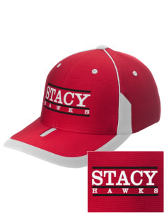 Stacy Middle School Hawks Embroidered M2 Universal Fitted Contrast Cap